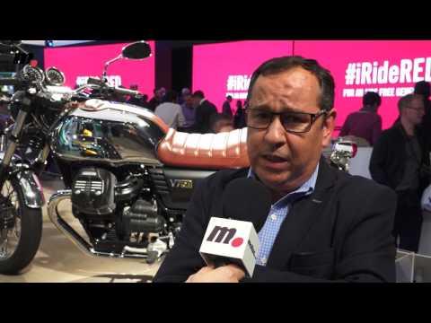 Grupo Piaggio 2017: Aprilia, Moto Guzzi y Vespa