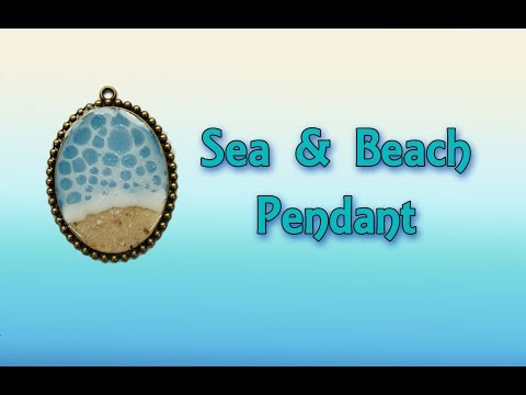( 822 ) sea & beach pendant
