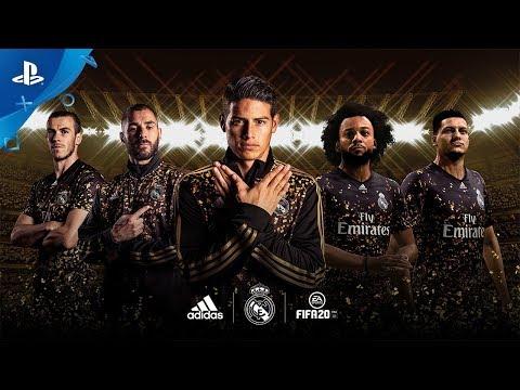 FIFA 20 - Novo Uniforme Edição Limitada EA SPORTS x adidas do Real Madrid
