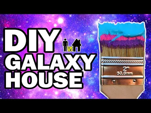 connectYoutube - We Painted Our House Galaxy!!! Man Vs House Ep.#6