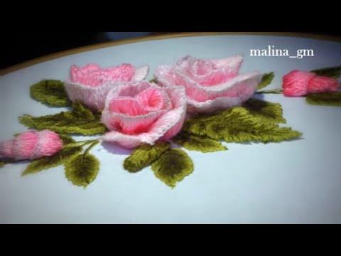 Hand embroidery: STUMP WORK | Объемная вышивка