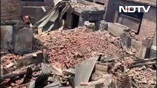 Raging Gunbattle In Srinagar Leaves Trail Of Destruction, Dozens Homeless - NDTV