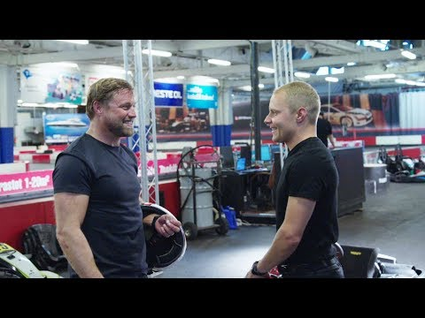 Valtteri Bottas Meets Sailing Superstar Alex Thomson!
