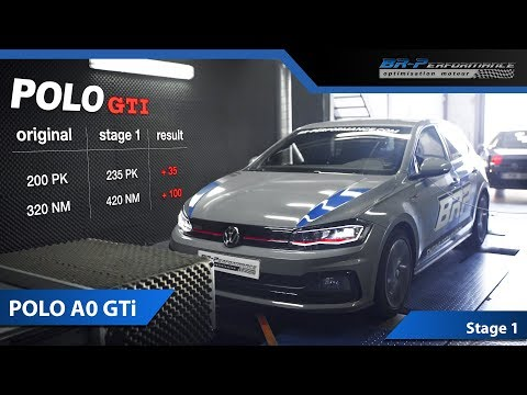 2018 VW Polo GTI BRP 2.0 TSi Build Part 1: Stage 1 Tune (Dyno + 0 -100 kp/h Launch Control)