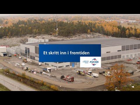 Et skritt inn i fremtiden - FUCHS Nordics nye produksjonsanlegg