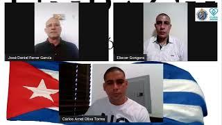 Transmitiendo la comparecencia de Ariel Ruíz Urquiola ante la Comisión de DDHH de la ONU.
