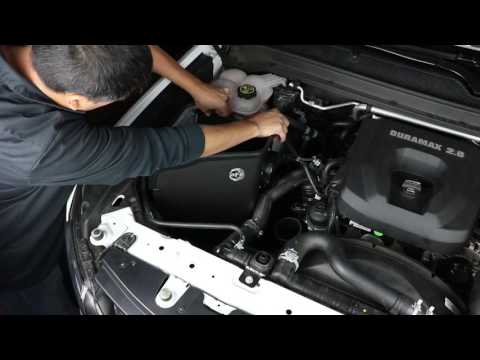 How To Install aFe Power 16-17 GM Colorado/Canyon I4-2.8L (td) Magnum FORCE Intake System 54-12832