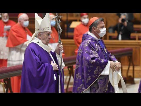"""Bài giảng của Đức Thánh Cha trong thánh lễ tạ ơn với các Tân Hồng Y 29/11: """" Bí quyết sống Mùa Vọng"""""""