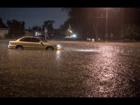 A Flash Flood hits the Albuquerque area