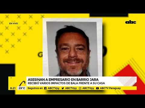 Policía investiga asesinato de empresario en Barrio Jara