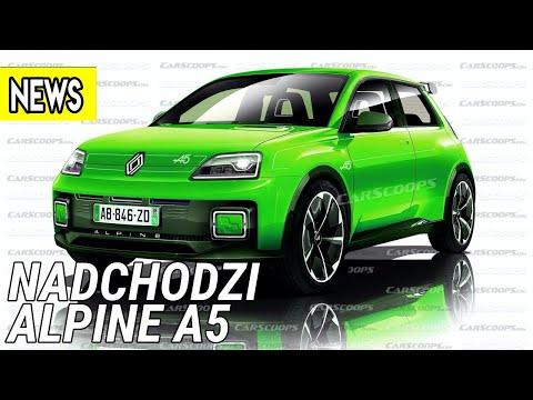 Nadchodzi Alpine A5, samochód Xiaomi, europejska Kia Sportage - #652 NaPoboczu