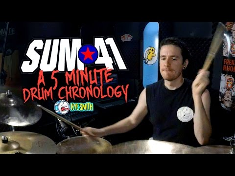 connectYoutube - Sum 41: A 5 Minute Drum Chronology - Kye Smith [4K]