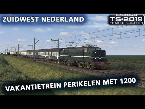 Train Simulator 2019: Vakantietrein perikelen op Zuidwest Nederland (Dutch Classics NS1200)