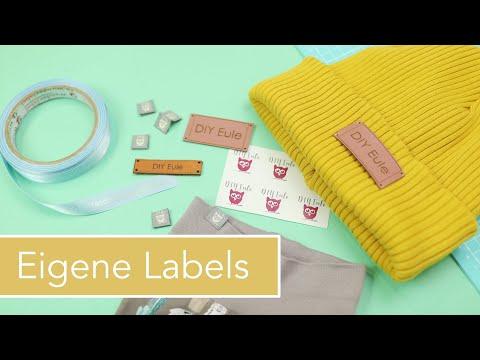 Eigene, professionelle Labels erstellen und verwenden