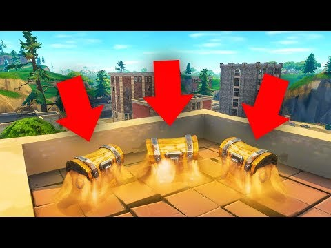 connectYoutube - BEST LOOT SPOT on the NEW Fortnite Map