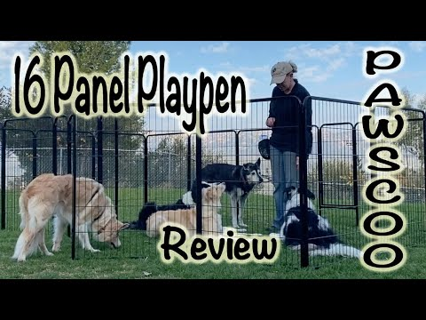 Pawscoo Dog Playpen Review