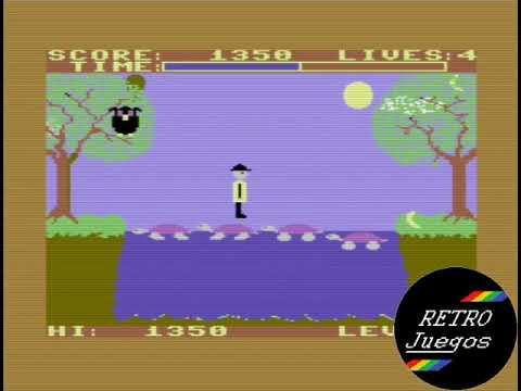Purple Turtle (Commodore 64) - Review de RETROJuegos por Fabio Didone