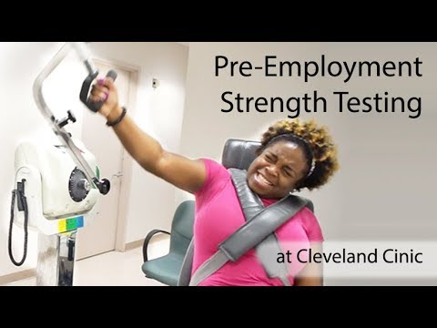 Cleveland Clinic utilizes Biodex System 4 Dynamometer to ensure employee and patient safety