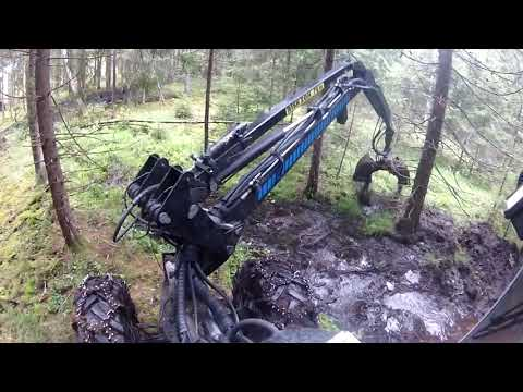 DITCH CLEARING WITH VIMEK 404 (2015)