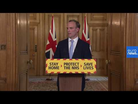 UK government gives daily COVID-19 update | LIVE
