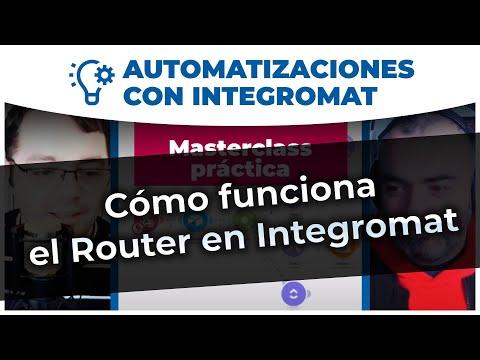 Automatizaciones - Cómo funciona el Router en Integromat para dividir acciones o tareas.