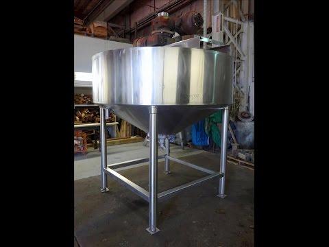 Used- Chester Jensen Dual Motion Cooker-Cooler, 500 Gallon, Model 70N50 - stock # 48705002