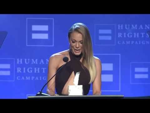 LeAnn Rimes Receives the HRC Ally For Equality Award