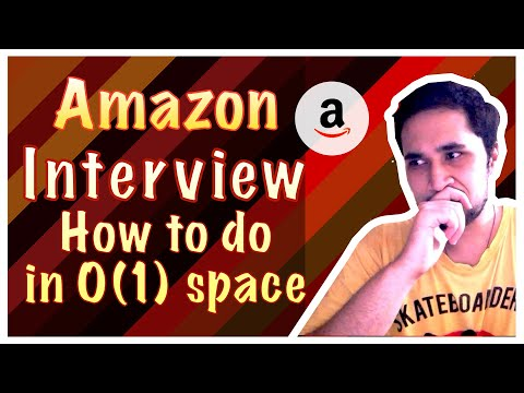 🔴 Amazon Interview Question - Missing Smallest Positive Number | Free Giveaway 🎁