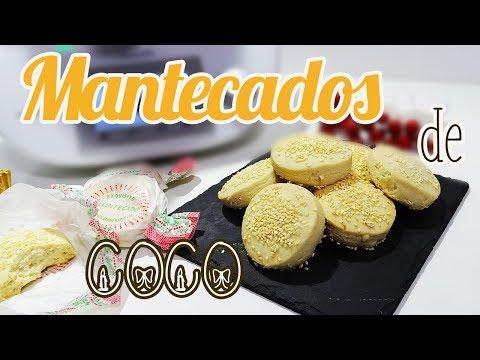 Mantecados de Coco | Muy fáciles de Hacer