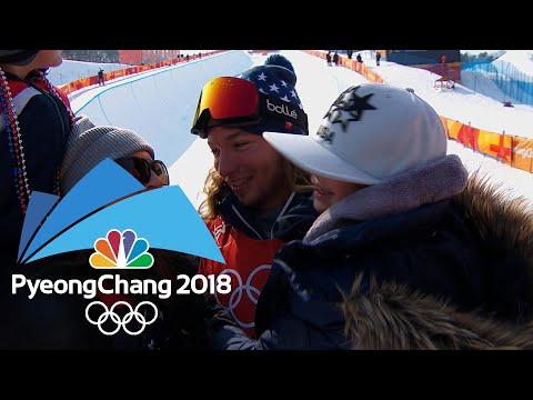 Behind the scenes of David Wise's gold medal halfpipe run