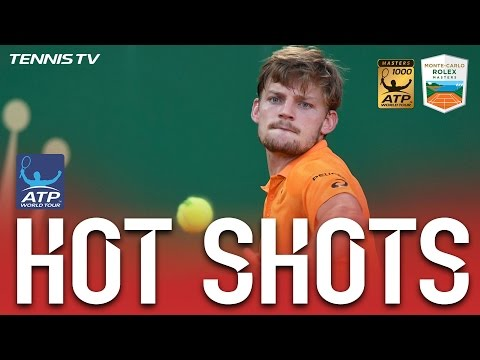 Goffin Blasts Forehand At Monte-Carlo 2017
