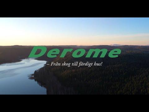 Derome - Från skog till färdigt hus English Subtitles