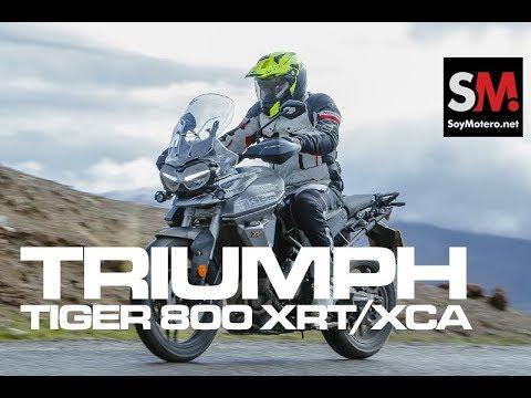 Triumph Tiger 800 XRT/XCA 2018: Prueba Moto Trail [FULLHD]