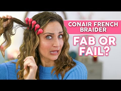 Conair French Braider… Will it Work? | FAB or FAIL