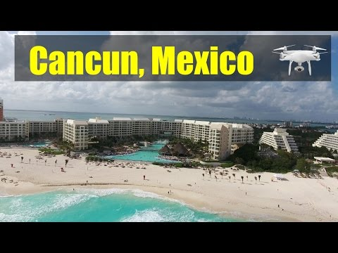 Cancun Mexico 4K Drone Video 2017 | Soothing Waves | Gorgeous Beach | Park Royal Cancun