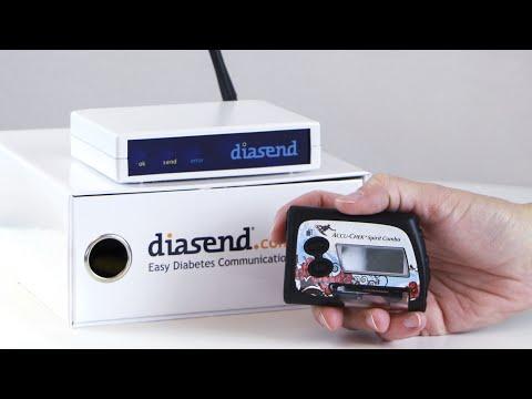 diasend® Clinic - Uploading Roche Accu-Chek Spirit Combo insulin pump