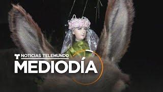 Esta Virgen recorre un pueblo de El Salvador con la ayuda de un burro   Noticias Telemundo