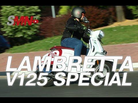 Prueba Lambretta V-Special 125 [FULL HD]