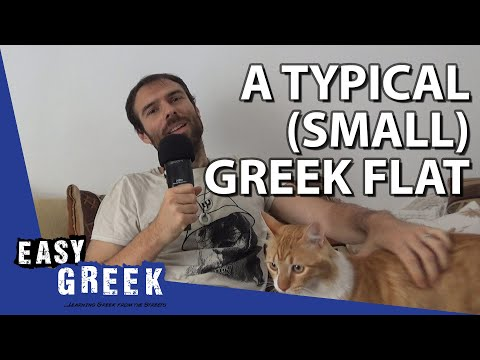 A typical small Greek flat | Super Easy Greek 14 photo
