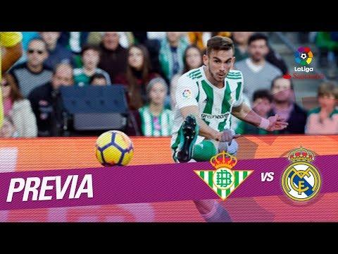 Previa Real Betis vs Real Madrid