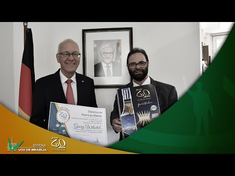 Entrevista com o Embaixador da Alemanha Georg Witschel | Jornalista Paulo Fayad thumbnail