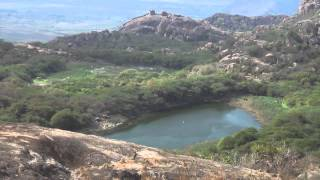 Kondaveedu fort top on the hill