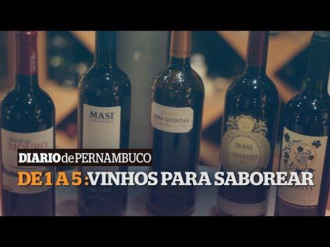 Sommelier indica 5 vinhos