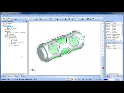 Wrapping Groups - BobCAD-CAM Quick Tips