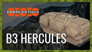video - Přepravní taška EBERLESTOCK B3 HERCULES - Military Range CZ/SK