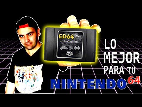 ED64 PLUS El FlashCard Para Nintendo 64 || ANALISIS