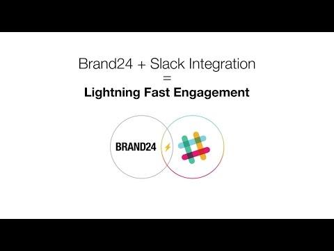 Slack Integration | Brand24 - social listening tool