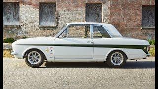 1967 Ford Lotus Cortina Mk2 – One Take