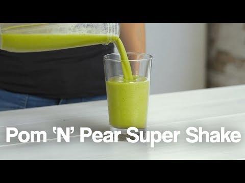 Pom n Pear Super Shake Jason Vale Recipe