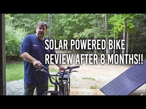Solar Powered Bike Review After 8 Months - Rad Power eBike